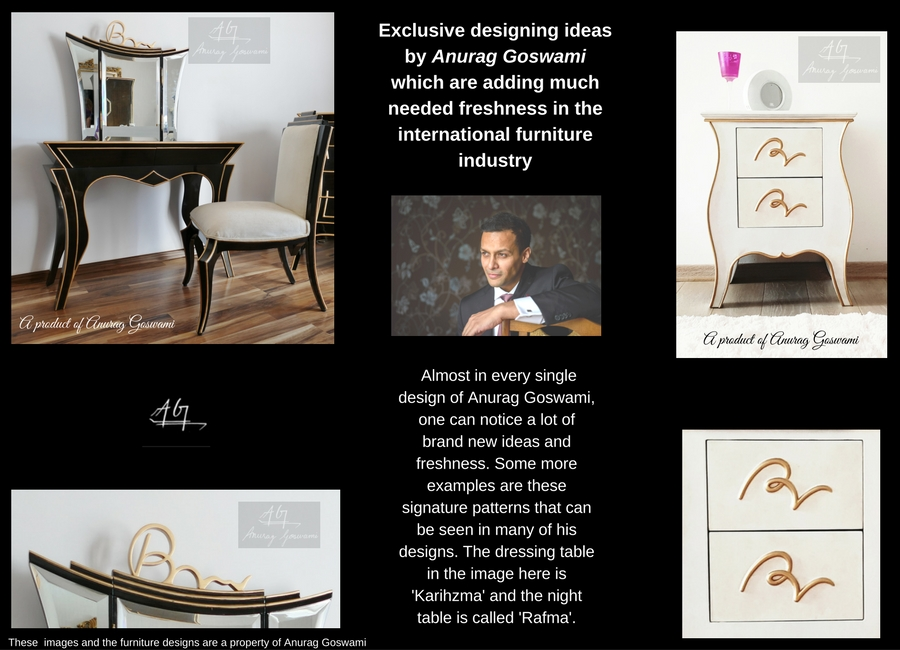 Portfolio Furniture by Anurag Goswami